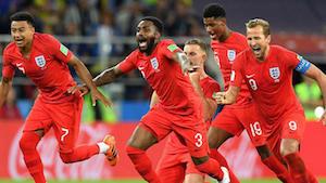 L'Angleterre est de retour en demi-finale