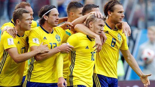 Suède – Angleterre