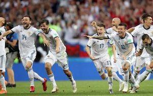 Les Russes ont été très solidaires lors du dernier match